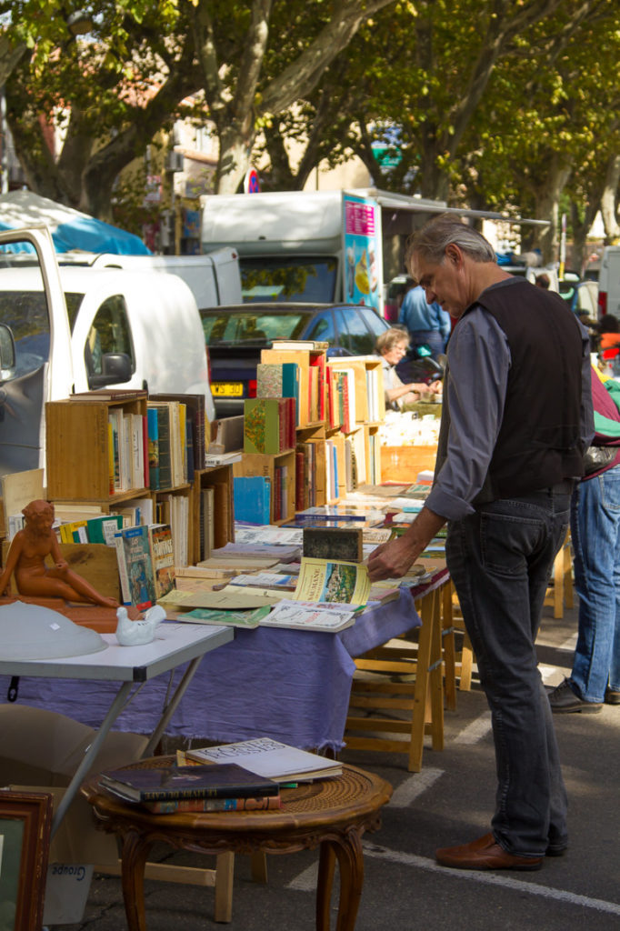 Sunday's Brocante in Carpentras